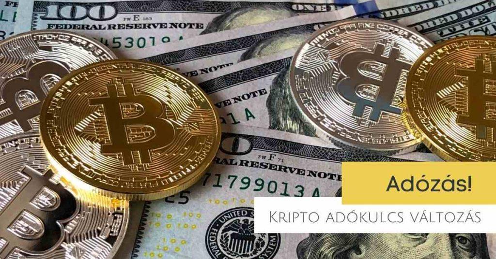Kriptovaluta kereskedés és befektetés adójogszabály várható