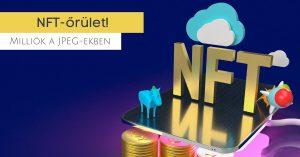 NTF piac, képekkel lett kripto milliomos